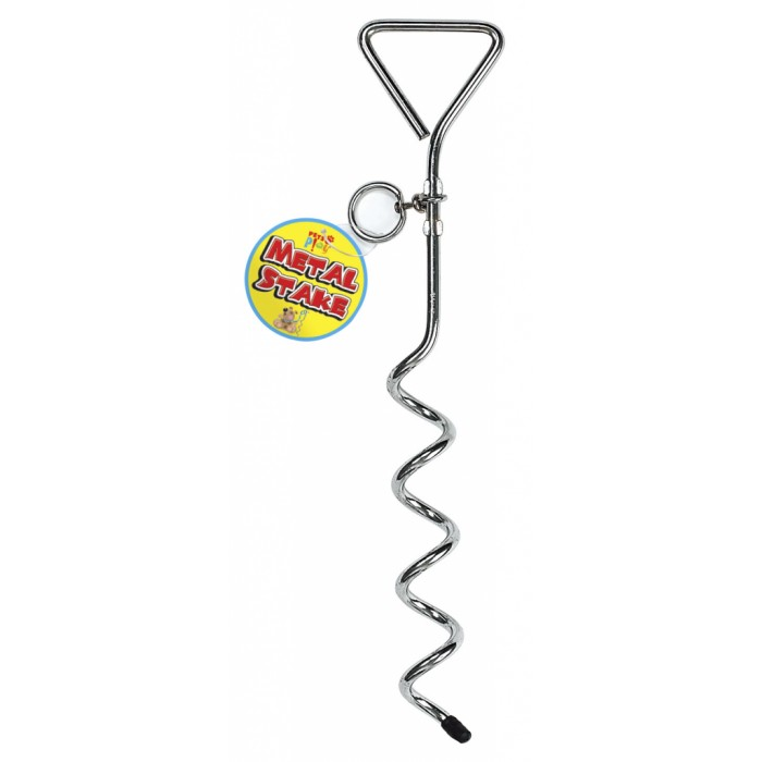Pet Dog Lead Tie Out Ground Stake