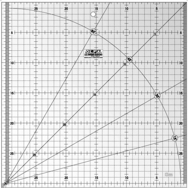 Olfa Quilt Ruler MQR 30 x 30