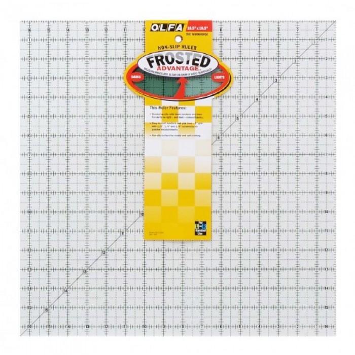 Olfa Quilt Ruler QR 16.5 x 16.5