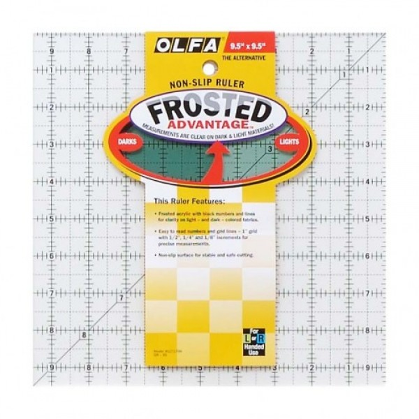 Olfa Quilt Ruler QR 9.5 x 9.5