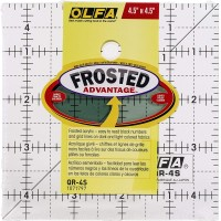Olfa Quilt Ruler QR 4.5 x 4.5