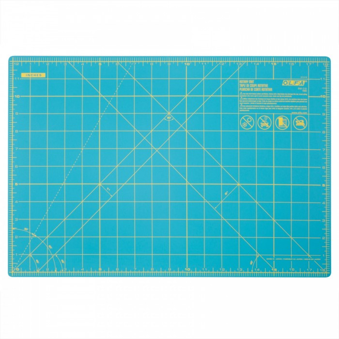 Olfa Rotary Cutting Mat RM-IC-C/Aqua - SPLASH