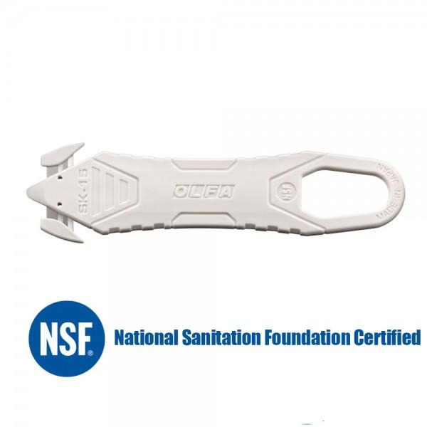 Olfa SK-15/White -Disposable Safety Knife