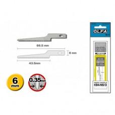 Olfa KB4-NS/3 Spare Narrow Saw Blade