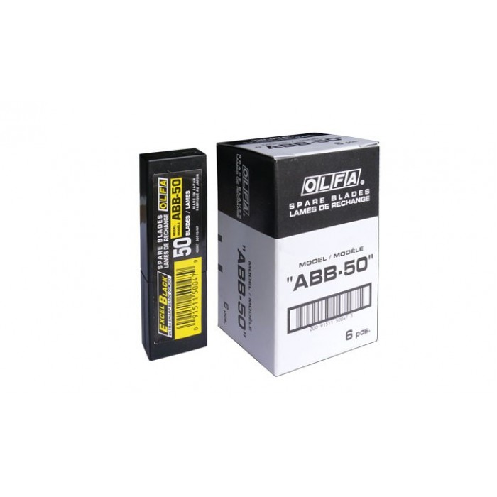 Olfa ABB-50 - 9mm- Excel Black 50 Blades