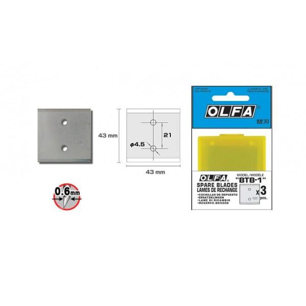 Olfa BTB-1 Scraper Blade