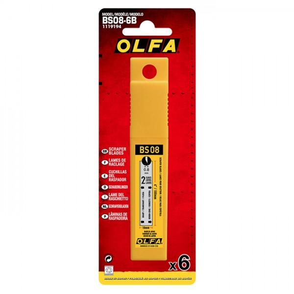 Olfa BS08-6B Spare Scraper Blade