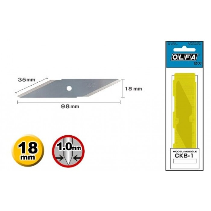 Olfa CKB-1 Craft Knife Spare Blade