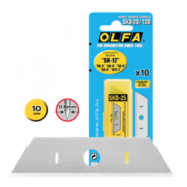 Olfa Spare Blade SKB-2S/10B Stainless Steel