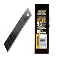 Olfa LBB-50 Spare Blade, 18mm Excel Black Blades