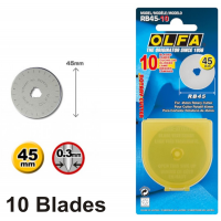 Olfa Spare Blade RB45-10 - 45mm