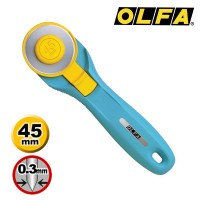 Olfa Rotary Cutter 45mm RTY-2/C - Splash Aqua