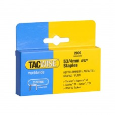 Tacwise 53 Series 4mm Staples -TAC0333