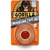 Gorilla Heavy Duty Crystal Clear Mounting Tape (25.4mm x 1.52m)