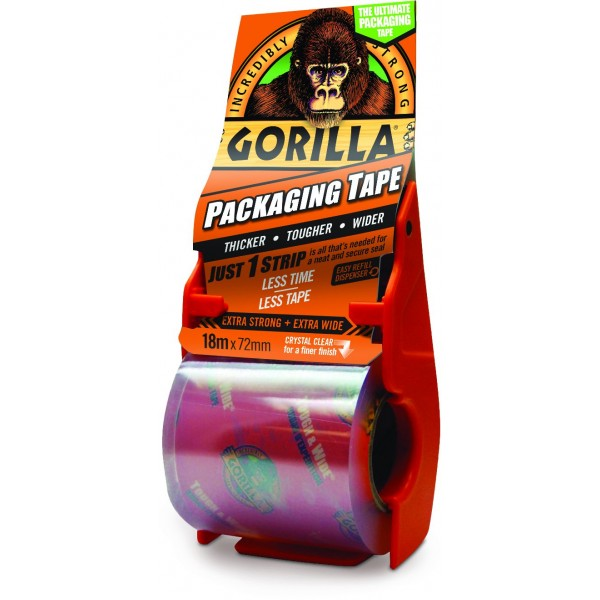 Gorilla Packaging Tape (18m x 72mm)