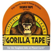 Gorilla Silver Tape (32m x 48mm)