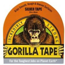 Gorilla Silver Tape (32m x 48mm)