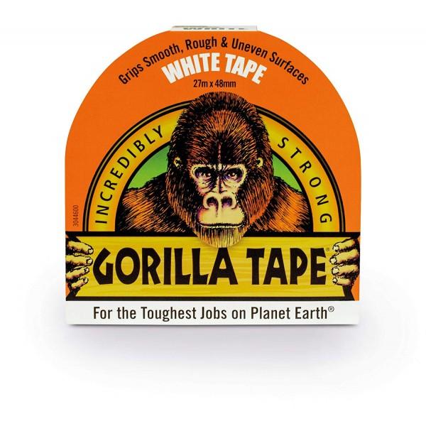 Gorilla White Tape (27m x 48mm)
